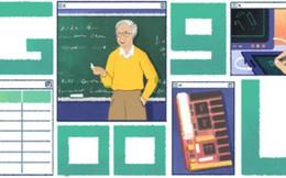 """Ông chú lạ hoắc trên trang chủ Google hôm nay là ai? Chính là """"Thầy đồng tiên tri Internet"""" đó!"""