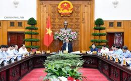 Thủ tướng chủ trì họp về tình hình sạt lở đất 13 tỉnh miền Trung