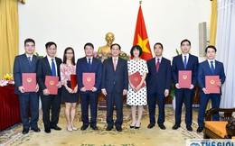 Điều động, bổ nhiệm nhân sự Bộ Ngoại giao