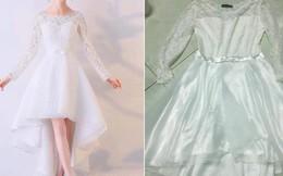 Đã bao vụ mua hàng online sai quá sai, cô dâu trẻ này vẫn chẳng rút kinh nghiệm, ngậm đắng cay ngay trong ngày cưới