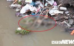 Thi thể nghi là nữ giới trôi dạt trên sông ở Hải Phòng