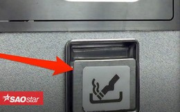 Vì sao máy bay vẫn có gạt tàn thuốc lá trong phòng vệ sinh mặc dù hành khách bị cấm hút thuốc?