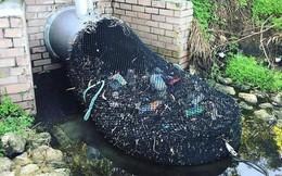Quốc gia nào cũng nên có một hệ thống như thế này để ngăn rác tràn ra ngoài đại dương