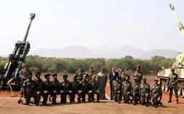 Lục quân Ấn Độ được trang bị hai hệ thống pháo tiên tiến