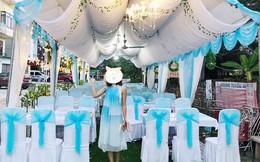 Tình cảnh trớ trêu: Cô gái ăn mặc lồng lộn đi đám cưới, ai ngờ tự hóa trang thành ghế ngồi di động