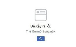 Facebook gặp lỗi, người dùng không thể làm mới bảng tin trên cả di động lẫn máy tính