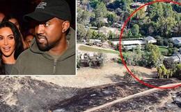Lộ hình ảnh khủng khiếp cho thấy biệt thự ngàn tỷ của Kim và Kanye suýt nữa đã biến thành đống tro tàn