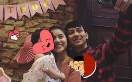 Cư dân mạng đặt dấu hỏi về em bé được Hoài Lâm và bạn gái bế trong tiệc thôi nôi