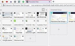 Giao diện mới của Chrome sẽ có thêm tính năng nhóm tab và thanh cuộn tab
