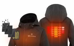Chiếc áo khoác kiêm lò sưởi này chính là thứ mà hội lúc nào cũng thấy lạnh cần cho mùa đông năm nay