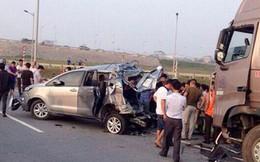 Chuẩn bị giám đốc thẩm vụ xe container tông Innova lùi trên cao tốc
