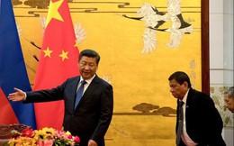 Trung Quốc rải thính và ông Duterte mắc câu