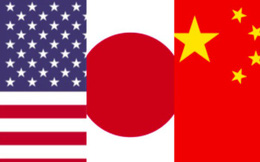 """Nhật Bản mắc kẹt giữa """"hai làn đạn"""" Mỹ - Trung"""