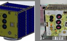 Vệ tinh MicroDragon do Việt Nam chế tạo sẽ được phóng ngày 17/1/2019