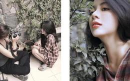 Có một kiểu con gái mang dép lê, ngồi bụi cây vẫn chụp được ảnh đẹp, nghe xong lý do chỉ biết ngậm ngùi