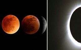 Tại sao Mặt Trăng nhỏ hơn nhưng có lúc che khuất được cả Mặt Trời?