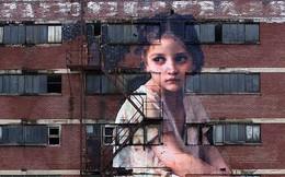 Khi những bức tường nhàm chán được thổi hồn bằng tranh vẽ, ai đi qua cũng sẽ phải ngoái nhìn