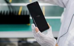 Không kém cạnh BOS của Bphone, smartphone Vsmart cũng sẽ chạy hệ điều hành 'VOS' của riêng mình