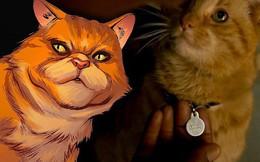 Sự thật kinh dị về con mèo rõ đáng yêu được Nick Fury vuốt ve trong Captain Marvel