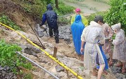 Đường sắt Bắc Nam bị gián đoạn sau mưa lớn tại Đã Nẵng