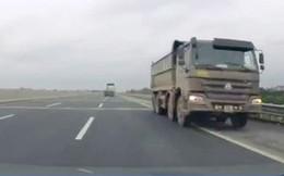 Vì sao không truy tìm được xe tải chạy ngược chiều vun vút trên cao tốc Nội Bài - Hải Phòng?