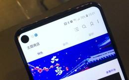 Samsung ra mắt smartphone với màn hình đục lỗ đầu tiên trên thế giới