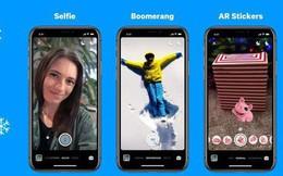 Facebook Messenger bổ sung chế độ chụp ảnh chân dung không cần camera kép và nhãn dán AR