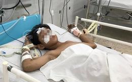 Bạn nghịch dại dùng ống hơi cao áp xịt vào vùng hậu môn, bé trai 13 tuổi thủng ruột nguy kịch