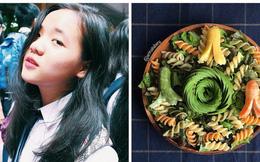 Thiếu nữ 18 tuổi không kiếm bạn trai chỉ thích ở nhà nấu ăn khoe tác phẩm vào bếp đẹp xốn tim