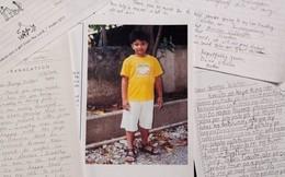 """Thư tay Bush """"cha""""  viết cho cậu bé Philippinnes lần đầu được công bố"""
