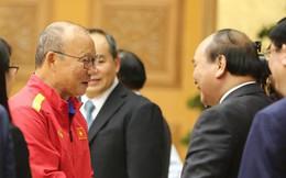Thủ tướng Nguyễn Xuân Phúc gặp mặt Đội tuyển bóng đá Việt Nam