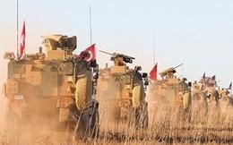 Thiết giáp Thổ Nhĩ Kỳ ùn ùn đến Syria sau khi Mỹ rút quân