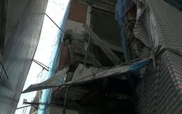 Sập giàn giáo công trình ở quận 3 khiến 3 người thương vong