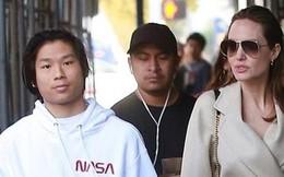 Angelina Jolie đưa con trai Pax Thiên đi mua sắm