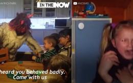 Truyền thống đón Giáng sinh kinh dị ở Séc khiến trẻ em sợ khóc thét