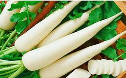 Kinh nghiệm dân gian dùng củ cải trắng chữa bệnh