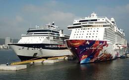Ảnh: Cận cảnh hai du thuyền 5 sao chở gần 8.000 du khách quốc tế đến Hạ Long