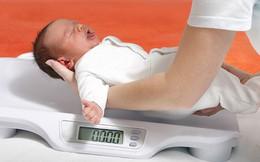 Chào đời có số cân nặng thế này chứng tỏ đây là đứa trẻ thông minh
