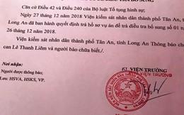 Trả hồ sơ lần 2 vụ cựu giám đốc Sở Y tế Long An kêu oan