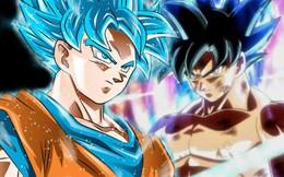 Dragon Ball Super: Tại sao Goku không thể cùng lúc sử dụng Bản năng vô cực và Super Saiyan Blue?