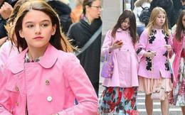 Rich kid chuẩn như con gái Tom Cruise: Tái xuất xinh đẹp, sang chảnh với bộ hàng hiệu tiền triệu