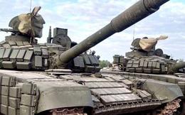 """Xe tăng Nga T-72B1MS """"Đại bàng trắng"""" tham gia cuộc diễu binh ở Lào"""