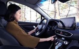 Hyundai SantaFe 2019 sẽ dùng vân tay thay chìa khoá xe?