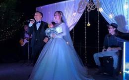 Vợ Tiến Đạt tiết lộ điều thú vị về chiếc váy phồng bất thường
