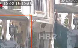 Sốc: Tiết lộ hình ảnh vận chuyển vali nghi chứa thi thể nhà báo Khashoggi