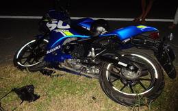 Xe mô tô gặp nạn trên đường nối cầu Cao Lãnh, 3 người thương vong