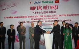 NutiFood hợp tác cùng Tập đoàn Asahi đưa các sản phẩm dinh dưỡng trẻ em Nhật Bản vào thị trường Việt