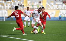 Báo Tây Á nhắc tới con số đáng lo ngại của Jordan trước trận đấu với Việt Nam