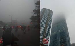 Hà Nội sương mù giăng khắp nơi khiến dân tình hoang mang cứ ngỡ đang ở Sapa, Đà Lạt