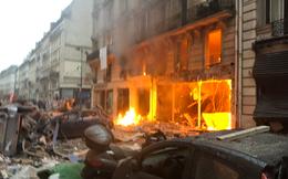 """Paris """"rung chuyển"""" vì vụ nổ lớn trong tiệm bánh, nghi ngờ rò rỉ khí ga"""